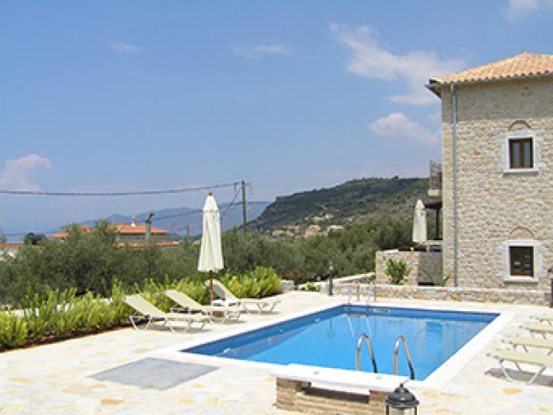 Appartementen Panorama Villas - Stoupa - Messinia